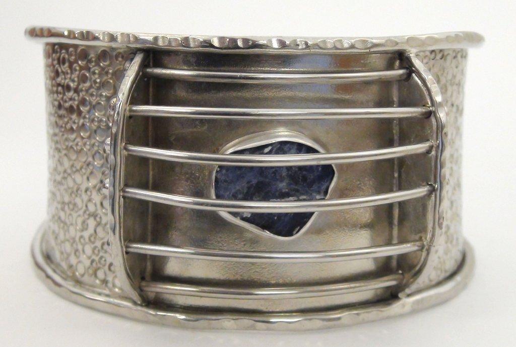 Caged Sodalite Bracelet