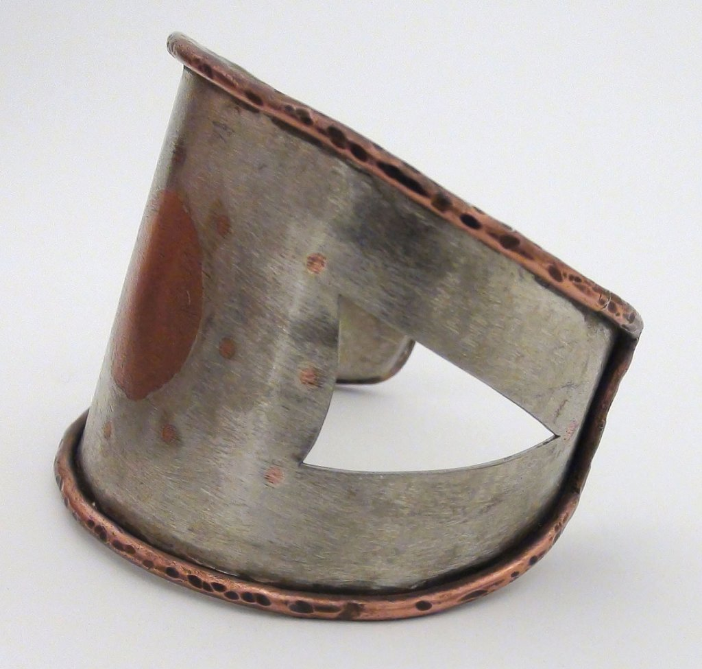 Copper Inlay Bracelet side view