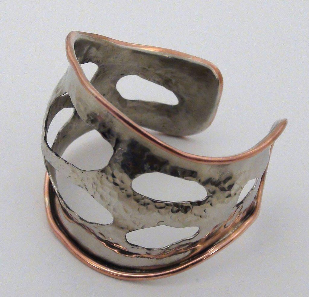 Textured Cutout Bracelet
