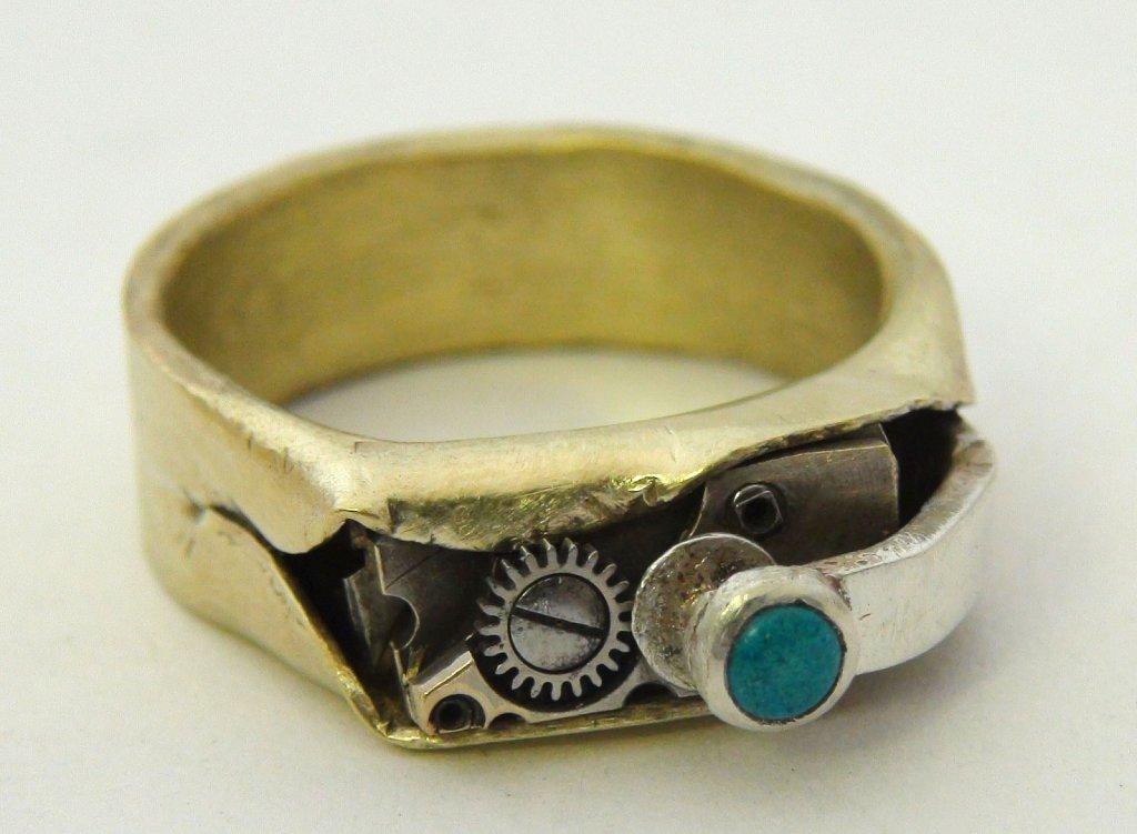 Steampunk Ring #10