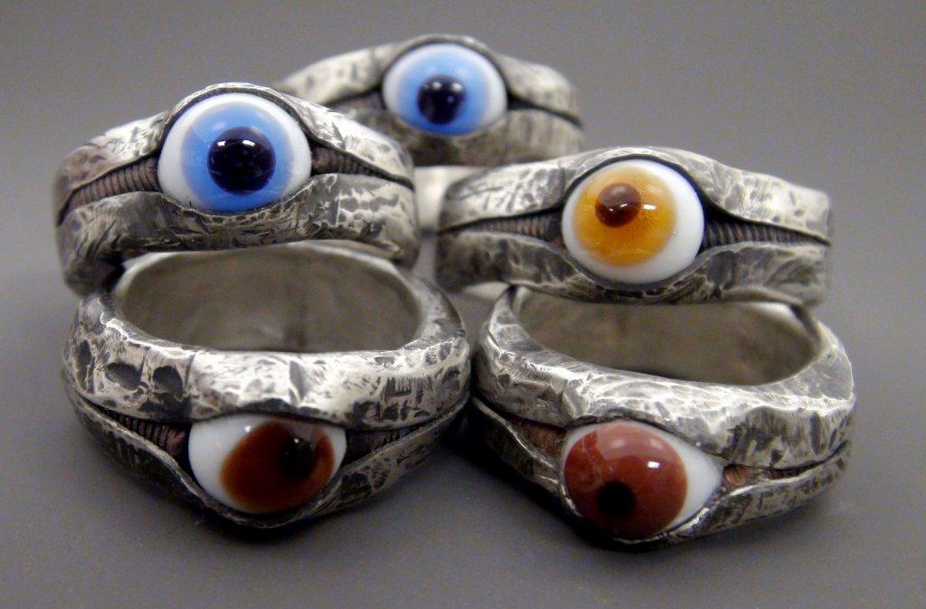 Assorted Eye Rings